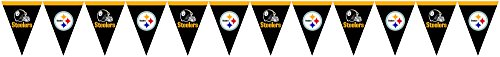 Creative Converting Pittsburgh Steelers Flag Banner Decoration at Steeler Mania
