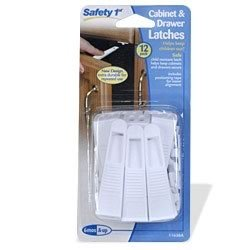Safety First Cabinet and Drawer Latches - 12-Pack by Safety 1st (Image #1)
