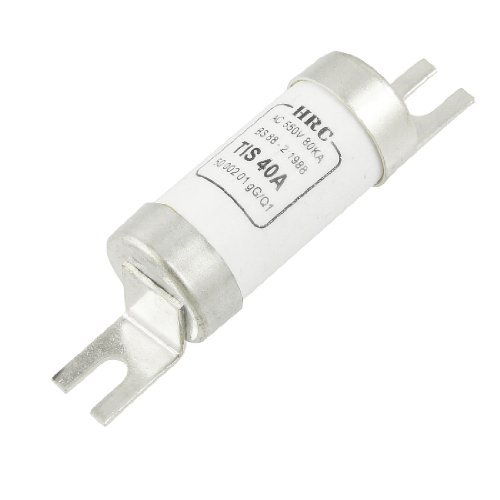 eDealMax T1S 40A AC 550V 80kA Courant de coupure cylindrique fusion rapide fusible Lien