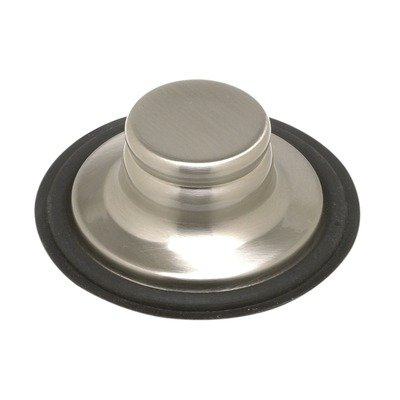 - Mountain Plumbing BWDS6818BRN Replacement Drain Disposer Stopper Finish: Brushed Nickel