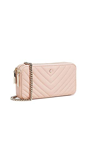 Kate Spade New York Women's Amelia Double Zip Mini Crossbody Bag, Flapper Pink, One Size