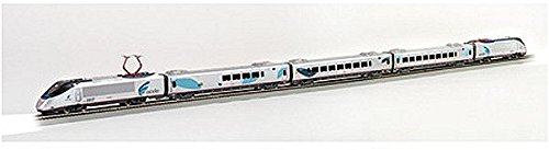 Bachmann Industries Acela Express DCC Ready To Run Electric Train Set (1:87 Scale)