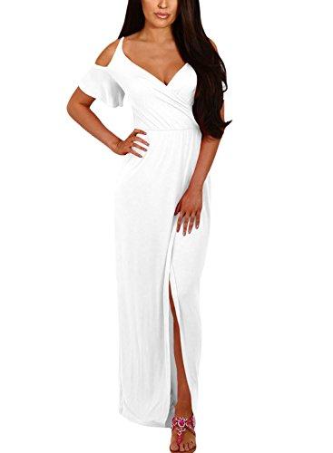 Beautiful Strapless Long Dress - 5