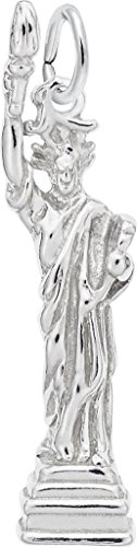 Rembrandt Statue Of Liberty Charm - Metal - Sterling Silver