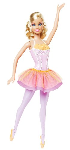 BARBIE I Can Be Ballerina Blonde Hair]()