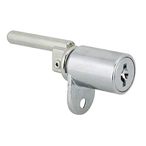 40mm Peg Desk Lock with 2 Keys Single Wing Horizontal Mastered M18