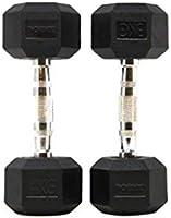 POWRX - Mancuernas hexagonales 50 kg Set (2 x 25 kg ...