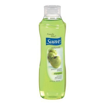 Special Pack of 6 SUAVE SHAMPOO GREEN APPLE 12 oz