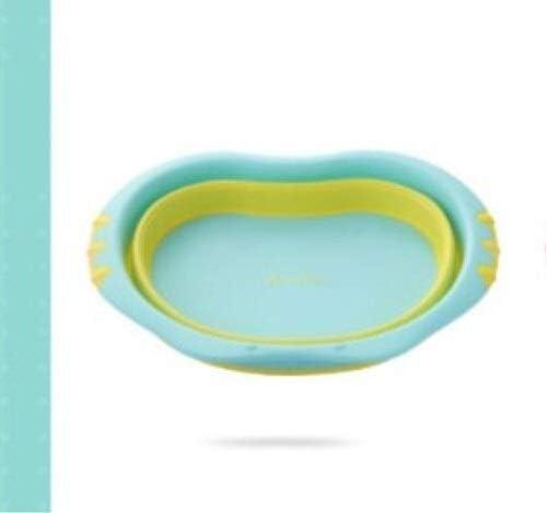 Fssh-mlx 赤ちゃんの洗面台の折りたたみ小さな洗面子供の赤ん坊の洗面新生児の足盆地母子用品 (色 : A)