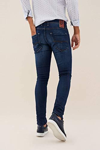 Skinny Jeans Wash Azul Clash Salsa con Premium 56wdZ1xB