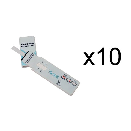 10 Single Panel Oxycodone Home Drug Test w/cassette 10 Pack