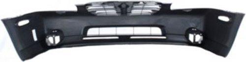 Crash Parts Plus Primed Front Bumper Cover Replacement for 2000-2001 Nissan Maxima