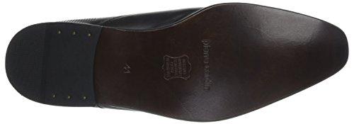 Pierre Cardin Jetko - Zapatos de Cordones de cuero hombre negro - Noir (Martinica Noir)