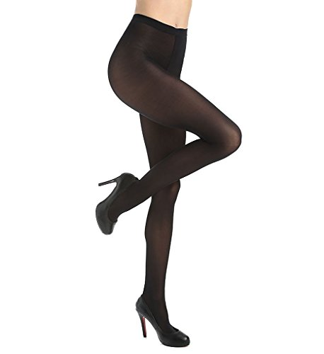 Wolford Satin Opaque 50 Tights (18379) M/Black (Tights Satin)