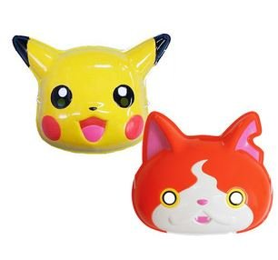 [Pikachu & Jibanyan mask omen two set Pokemon / Yokai watch] (Dora Costume For Sale Philippines)