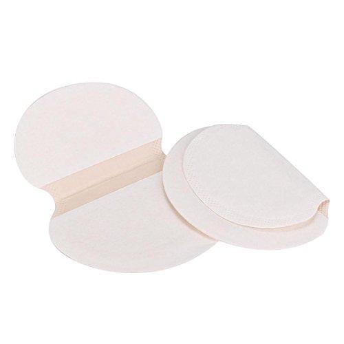 Kolylong 30pcs Sous-bras Disques anti-transpirants pour Chemisiers et blouses, Koly Pure Pads Tampon Aux aisselles au revoir Déodorant Anti-transpirant Déodorant