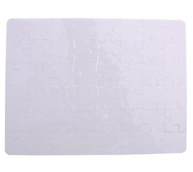 激安大特価! SFS空白Polymer昇華JigsawホワイトBlankパズル10個 x。a4熱転送10 x