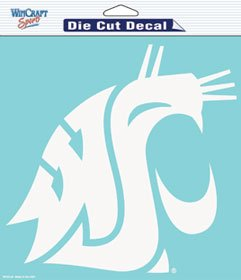 WinCraft NCAA Washington State University WCR34885071 Perfect Cut Decals, 8