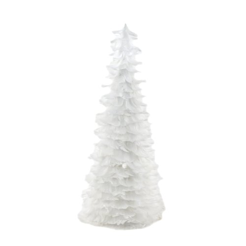 Natural Festive Feather Christmas Tree - 24