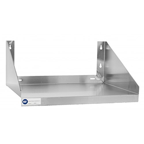 Gusto MS1824 18'' x 24'' Stainless Microwave Shelf by Gusto