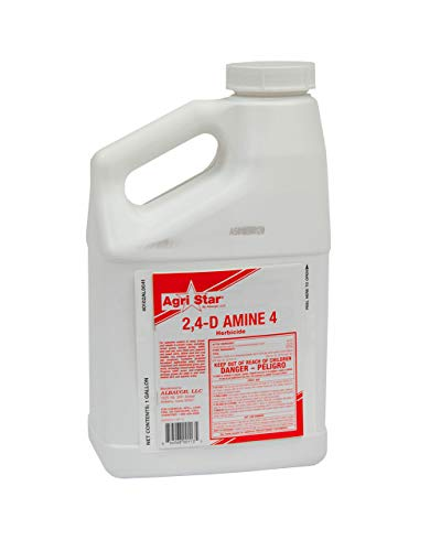 Agri Star 2,4-D Amine 4 Herbicide 128oz Gallon Dimethylamine 46%