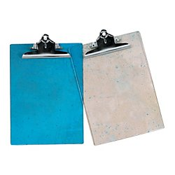 OfficeMax(R) Brand Translucent Acrylic Clipboards, Letter-Size, Clear