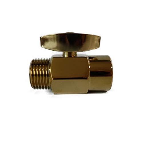Shower Head Water Flow Volume Control Polished Brass