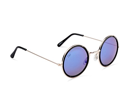 nbsp;Gafas blue unisex Dice gold sol nbsp;– smoke gradual de matt black shiny 5PxqBTx