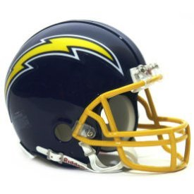 San Diego Chargers 1974 to 1987 - NFL MINI Helmet by Gridiron Football Helmets