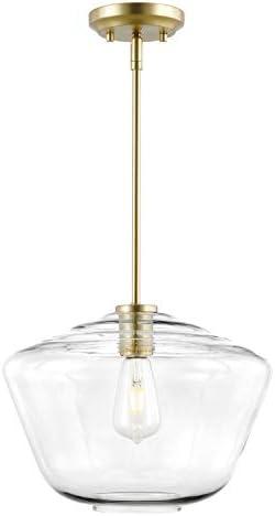 Light Society LS-C321-BB-CL Vera Pendant Light