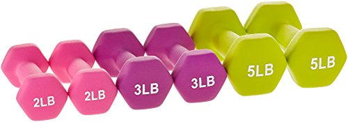AmazonBasics-20-Pound-Dumbbell-Set-with-Stand-White-Lettering