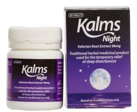 (Pack of 5) GR Lanes - Kalms Night 50 Capsule by G R LANE HEALTH PRODUCTS