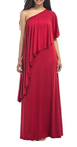 Kleid lang rot ruckenfrei