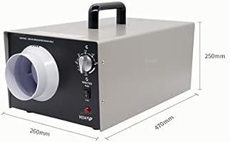 200W Generador de ozono, Comercial Industrial Generador de ozono, 7000 - 14000mg / h de ozono purificador de aire para locales Hoteles y granjas de Olores en el hogar ...