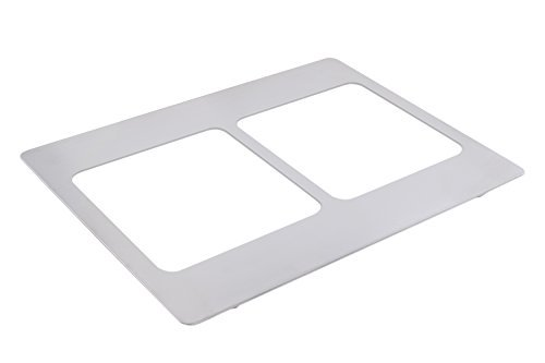 Bon Chef 52093 EZ Fit Tile for 2 3 quart Stainless Steel Small Food Pans 20-13/16 Length x 19-1/8 Width [並行輸入品]   B077JNPFDJ