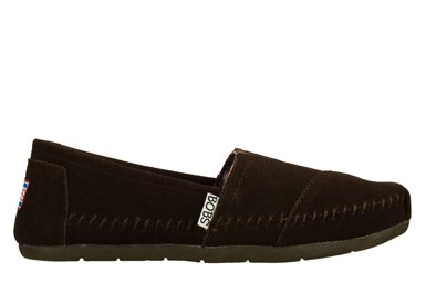Brown Bobs On Skechers Peace Lux Women's Sign Slip 68nqSTOp