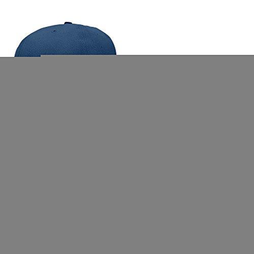 JUNJ Unisex Green Sherk Head Logo Flat Brim Baseball CapHat Navy (Costume Rental Tampa)