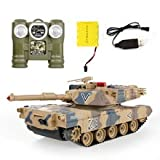Tank Against RC Tanks parent-child against infrared Remote Control with turret Tank model Battle Toy Car