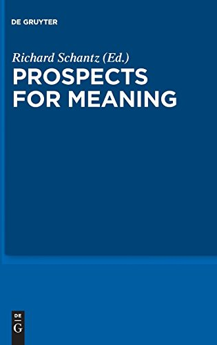 Prospects for Meaning CITP 3 (Current Issues in Theoretical Philosophy) (v. 3)