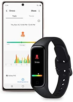 Samsung Galaxy Fit 2 Bluetooth Fitness Tracking Smart Band – Scarlet (US Version) 11