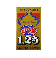 Wholesale Job 1.25 Rolling Paper 24 Booklets ()