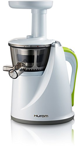 Hurom HU-100 Masticating Slow Juicer,  White