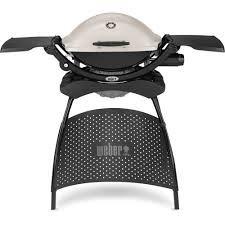weber 1 burner q2200 gas grill with stand. Black Bedroom Furniture Sets. Home Design Ideas