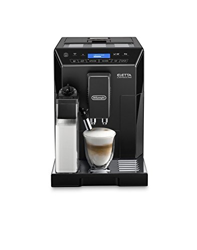 DeLonghi ECAM44660 ELETTA CAPPUCCINO Super Automatic Espresso Machine with Lattecrema System, Black