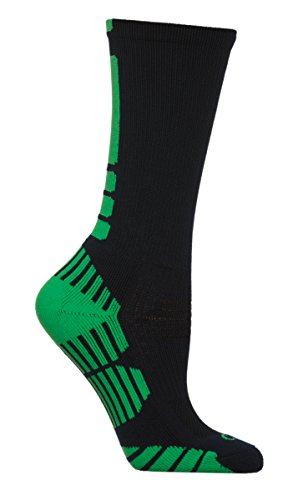 CSI Vertical Performance Crew Socks Made In The USA Navy/Lime