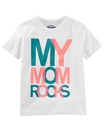 Toddler Boy T-Shirt OshKosh Originals Graphic Tee My Mom Rocks (4T)