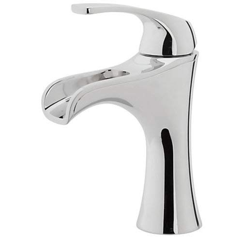 Pfister LF-042-JD Jaida Waterfall Bathroom Faucet with Push & Seal Drain, Polished Chrome