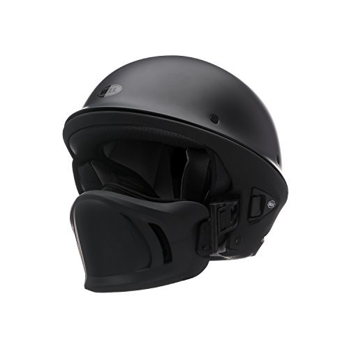 Bell Rogue Open Face Harley Cruiser Motorcycle Helmet – Matte Black / X-Large