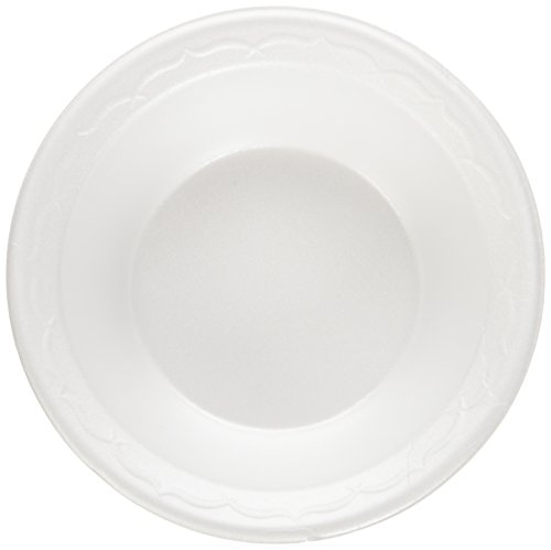 GNP82100 - Celebrity Foam Bowls, 12 Ounces, White, Round, 125/pack Celebrity Foam Bowls