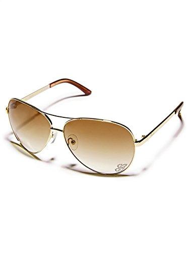 GUESS Kylie Aviator Sunglasses